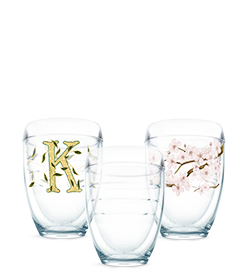 Stemless Wine Glass designs