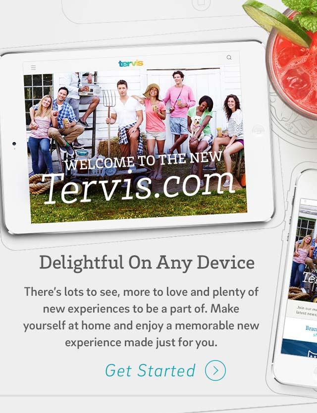 Explore the New Tervis Website