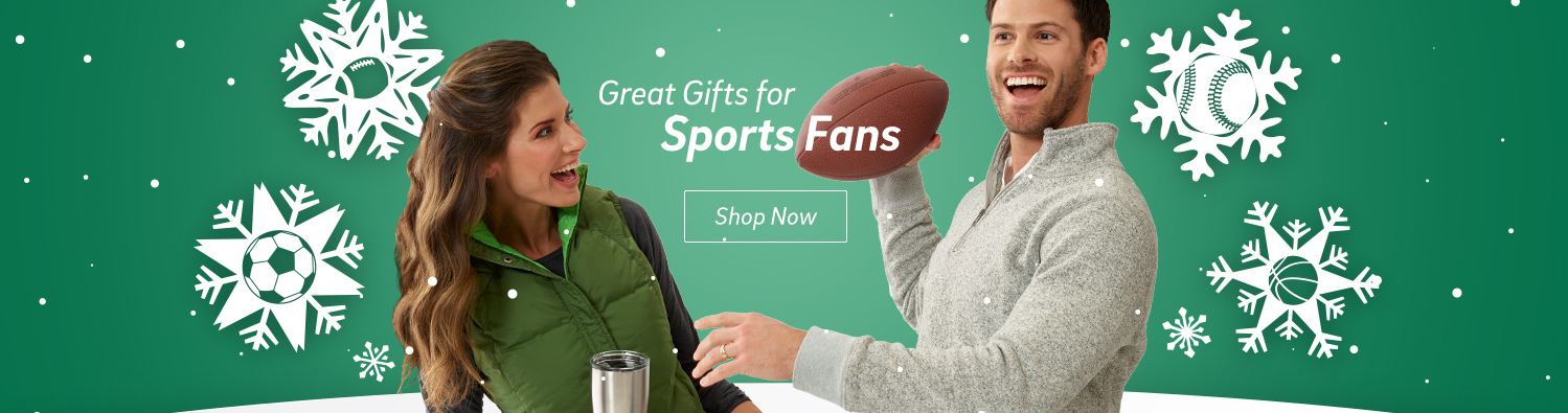 Great gifts for Sports Fans. Shop Now