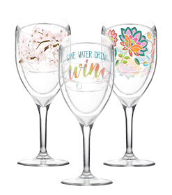 wine glass designs
