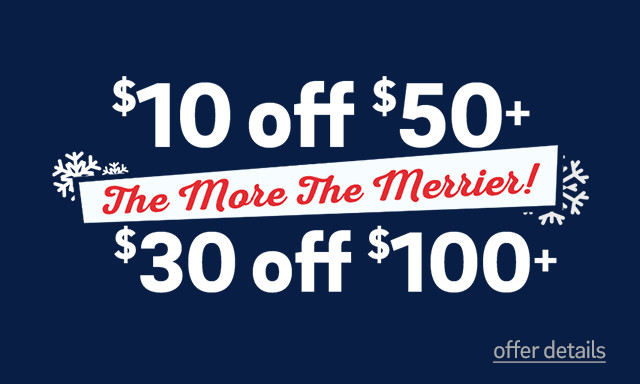 Save Up to $30 on Today's Order