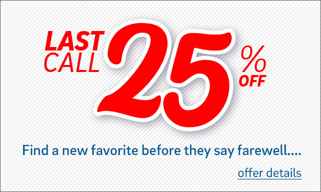 Save 25% on Select Designs