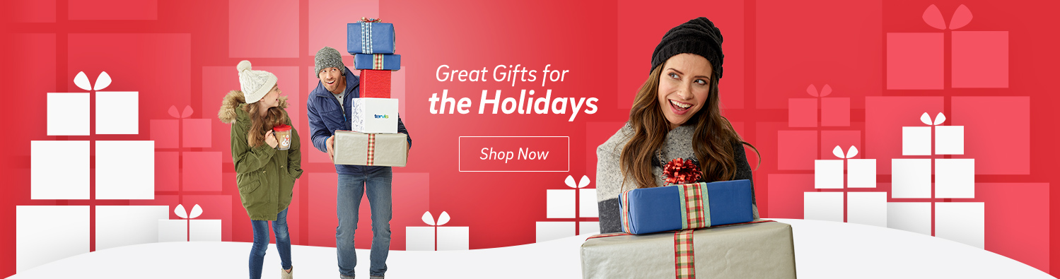 Great Gifts for the Holidays. Shop Now
