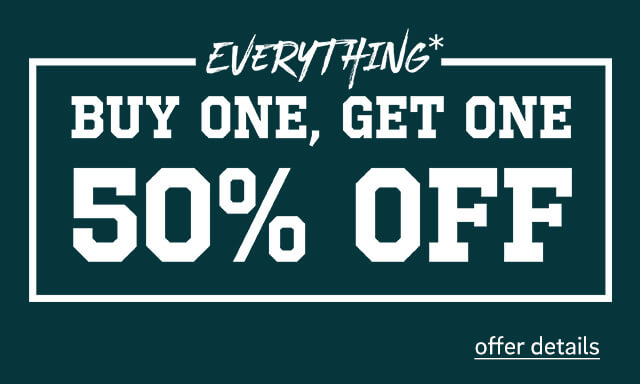Buy 1 Get 1 50% Off Everything