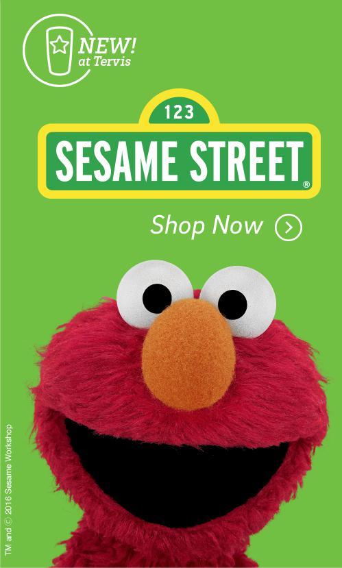 Sesame Street - Shop Now >