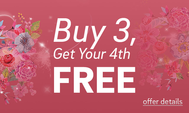 Buy 3, Get Your 4th Free