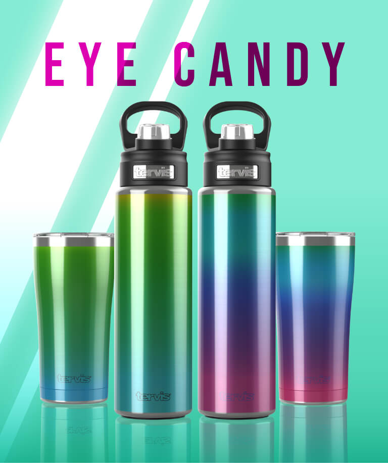 Eye Candy - This eye-catching collection packs a powerful punch with a brilliant blend of chromatic colors.