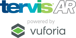 Tervis AR powered by vuforia