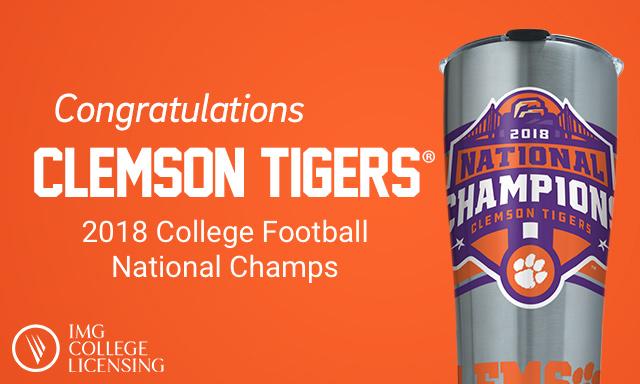 Congratulations Clemson Tigers