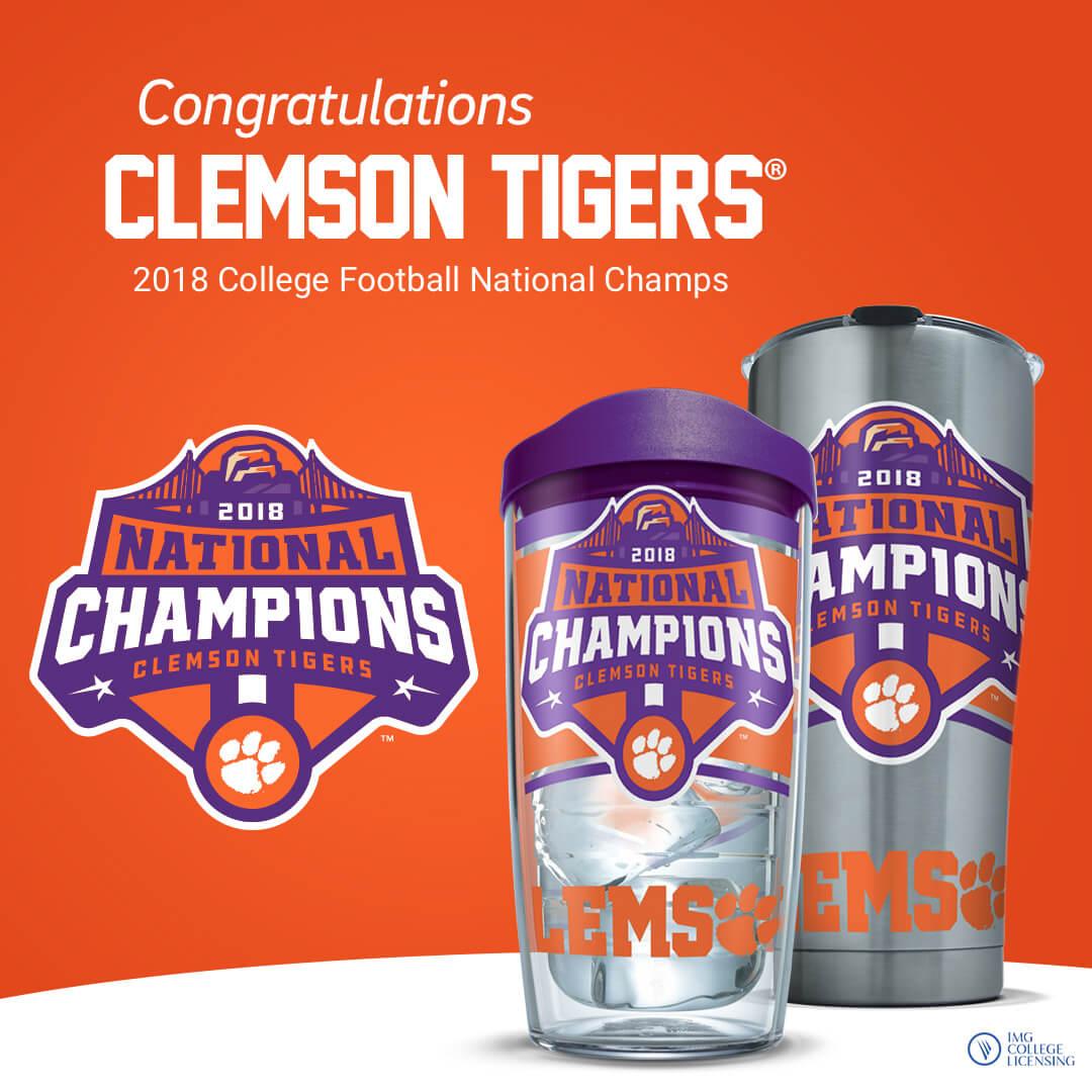 Congratulation Clemson Tigers®
