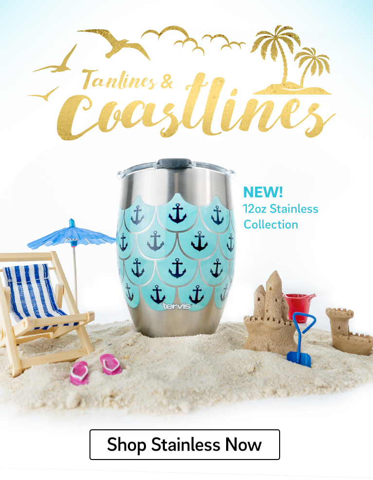 Toast the Coast- Our New Stainless Steel Water Bottle - Shop Stainless Now