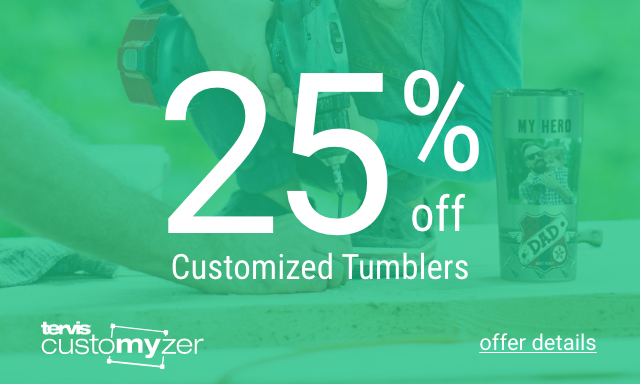 25% Off Customized Designs - Click for details