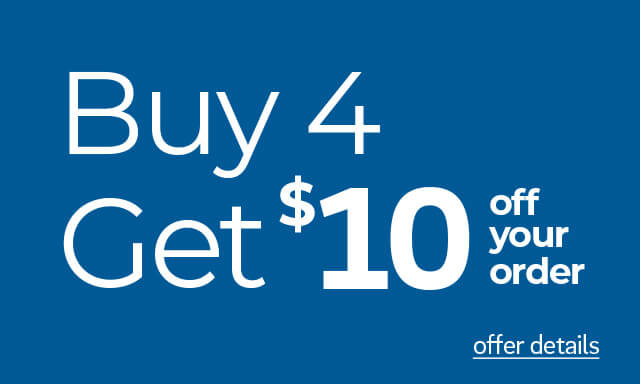 Buy 4 cups, Get $10 Off - Click for details