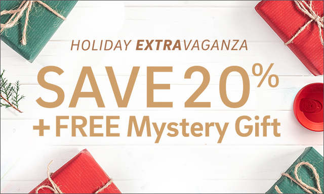 Save 20% + Mystery Gift