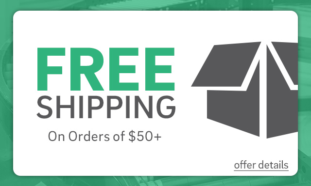 Free Shipping on orders of $50 or more - Click for details