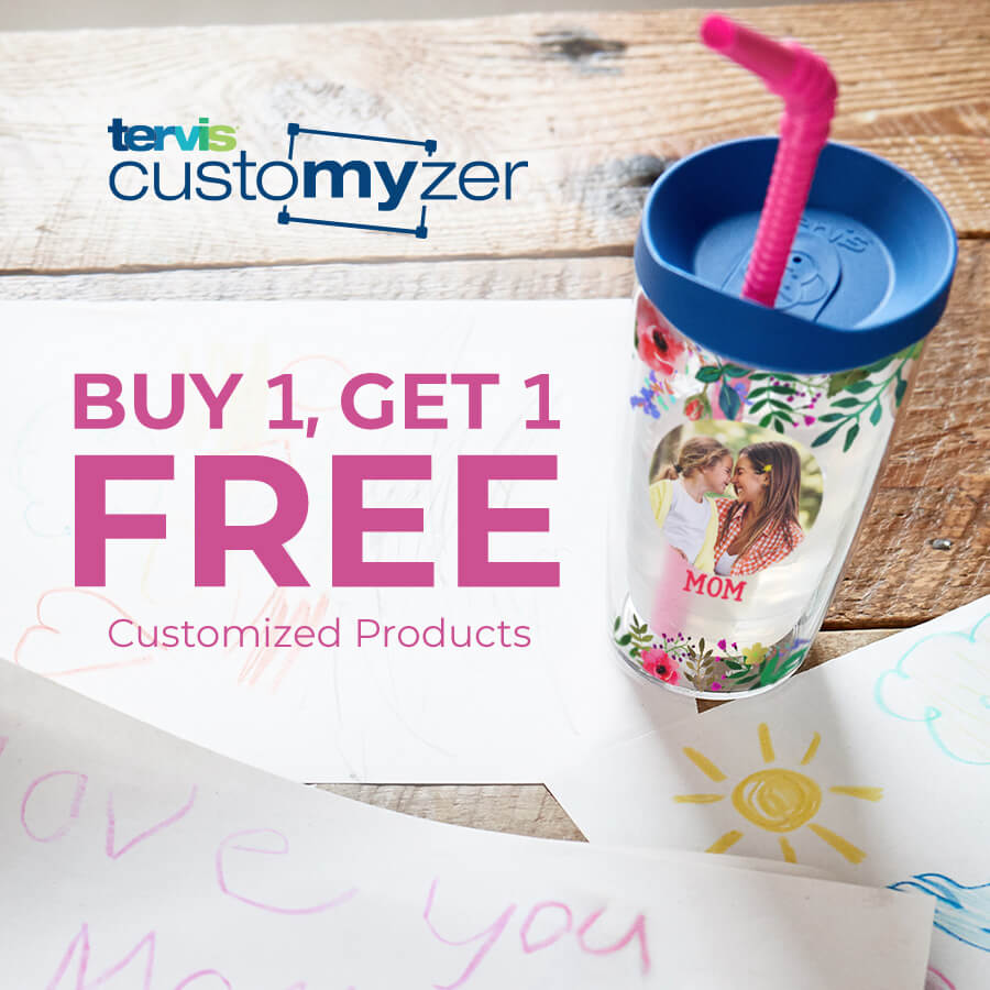 Customyzer Buy 1 Get 1 Free Customized Products