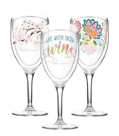 wine glass designs