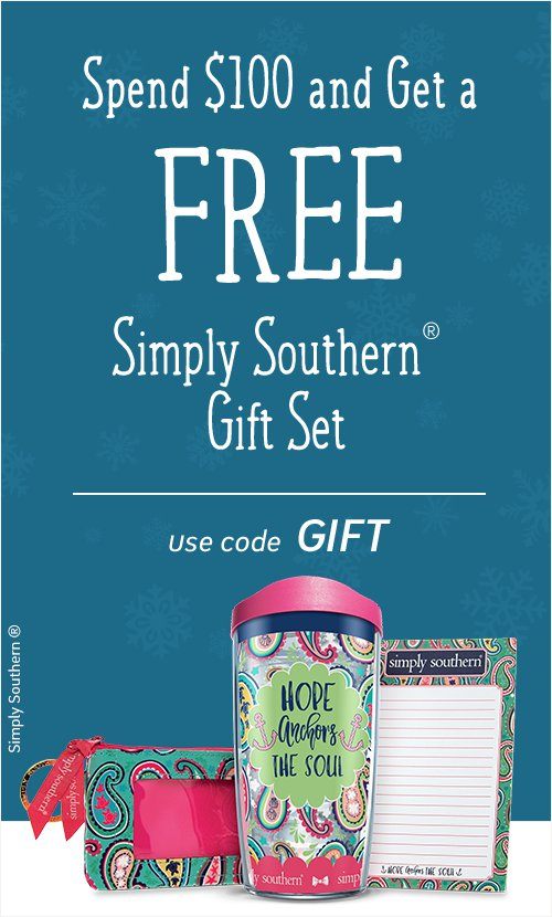 Simply Southern Gift Set Free with Order of $100+
