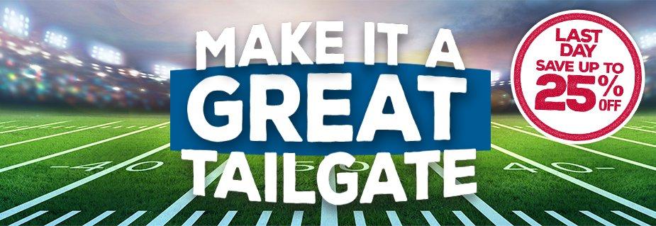 Make It a Great Tailgate