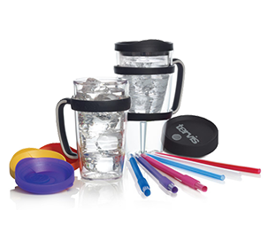 collage of Tervis accessories