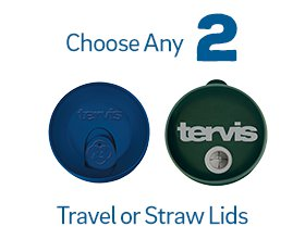Choose Any 2 Travel Lids or Straw Lids