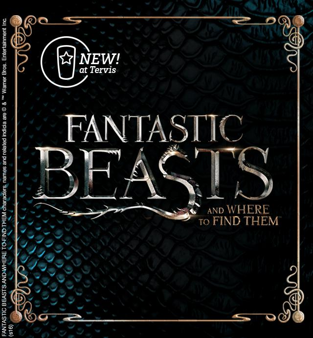 NEW at Tervis! Fantastic Beasts and Where to Find Them